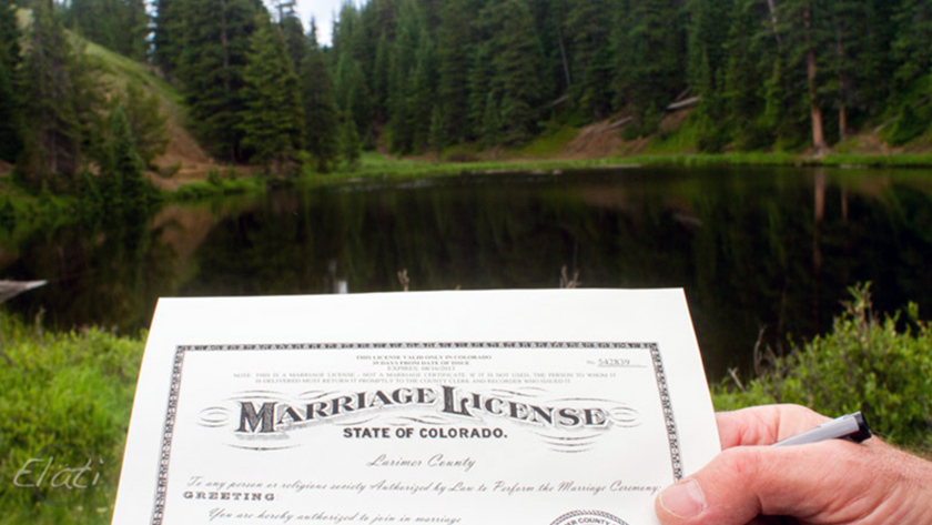 Are you legally married with just a marriage license