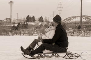 Winter Wedding Engagment Pictures