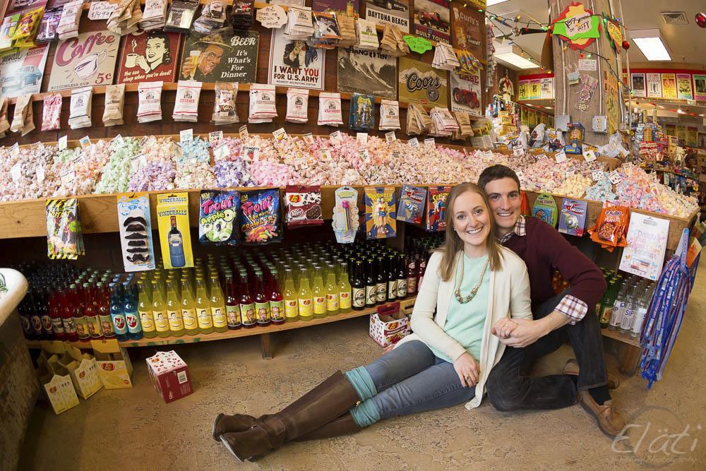 Elati Engagement Pictures in Denver