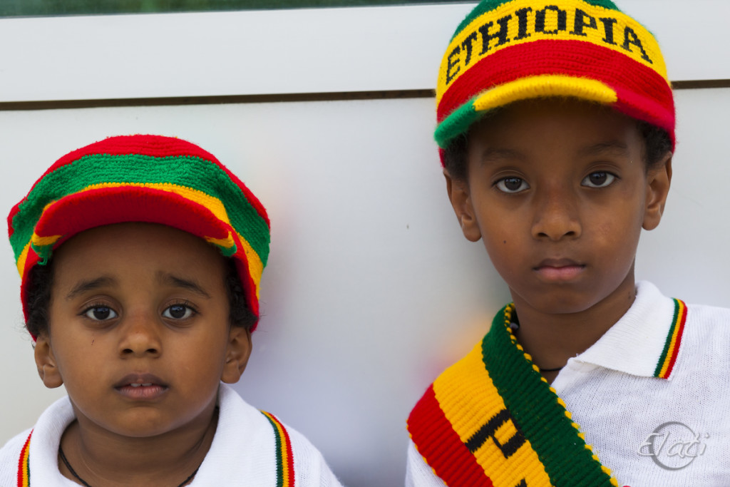 Young Ethiopian Pride