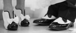 Black & White Wedding Shoes